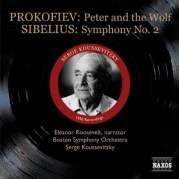 Обложка альбома Prokofiev: Peter and the Wolf / Sibelius: Symphony no. 2, Музыкальный Портал α
