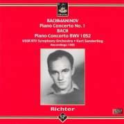 Обложка альбома Rachmaninov: Piano Concerto No. 1 / Bach: Piano Concerto BWV 1052, Музыкальный Портал α