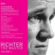 Richter the Master, Volume 3: Scriabin, Prokofiev, Shostakovich, Музыкальный Портал α