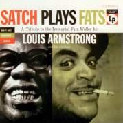 Обложка альбома Satch Plays Fats: A Tribute to the Immortal Fats Waller, Музыкальный Портал α