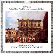 Stabat Mater / Nisi Dominus / Concerto in G minor (The Academy of Ancient Music, feat. conductor: Christopher Hogwood, countertenor: James Bowman), Музыкальный Портал α