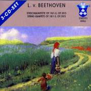 Обложка альбома Streichquartette op. 18/1-5, op. 59/3, Музыкальный Портал α