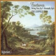 Обложка альбома String Trio, op. 3 / Serenade, op. 8, Музыкальный Портал α