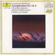 Symphonien Nos. 1, 4 (Berliner Philharmoniker feat. conductor: Herbert von Karajan), Музыкальный Портал α