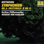 """Обложка альбома Symphonies no. 6 """"Pastorale"""" & no. 8, Музыкальный Портал α"""