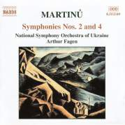 Обложка альбома Symphonies nos. 2 and 4, Музыкальный Портал α
