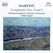 Обложка альбома Symphonies nos. 3 and 5, Музыкальный Портал α