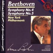 Обложка альбома Symphonies nos. 4, 5, Музыкальный Портал α