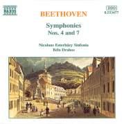 Обложка альбома Symphonies nos. 4 and 7, Музыкальный Портал α