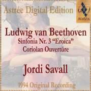"""Обложка альбома Symphony No. 3 """"Eroica"""" / Coriolan, Музыкальный Портал α"""