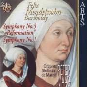"""Обложка альбома Symphony no. 8 """"Symphony of a Thousand"""", Музыкальный Портал α"""