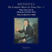 Обложка альбома The Complete Music for Piano Trio, Volume 1: Piano Trios, op. 70 / Allegretto in B-flat, Музыкальный Портал α