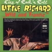 Обложка альбома The Wild & Frantic Little Richard, Музыкальный Портал α