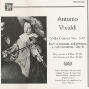 Violin Concerti Nos. 5-12, Op. 8 / Flute Concerto in D major / Cello Concerto in B minor, Музыкальный Портал α