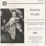 Обложка альбома Violin Concerti Nos. 5-12, Op. 8 / Flute Concerto in D major / Cello Concerto in B minor, Музыкальный Портал α