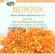 Обложка альбома Violin Concerto / Romances nos. 1 & 2, Музыкальный Портал α