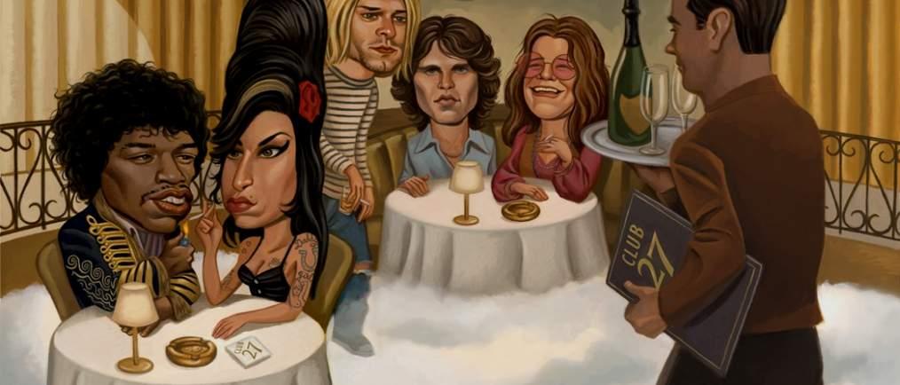 «Клуб 27», известные музыканты, которые умерли в 27 лет, Музыкальный Портал α