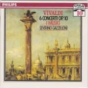 Обложка альбома 6 Concerti, op. 10 for Flute, Strings and Continuo, Музыкальный Портал α