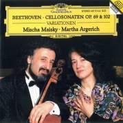 Обложка альбома Cello Sonatas, op. 69 & 102, Музыкальный Портал α