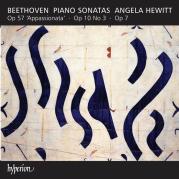 """Обложка альбома Piano Sonatas: Op. 57 """"Appassionata"""" / Op. 10 no. 3 / Op. 7, Музыкальный Портал α"""