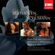 Обложка альбома Triple Concerto / Piano Concerto in A minor, Музыкальный Портал α